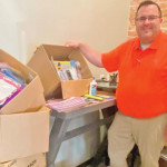 School Supplies Collected For