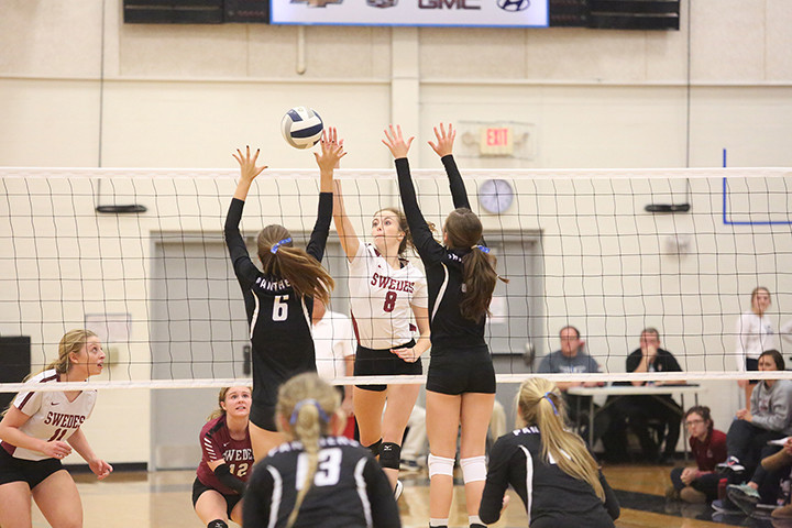 To view more photos from the Lady Swedes volleyball contests at Grand Island Central Catholic Triangular, check out the Tribune Photo Store.